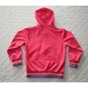Kislány rózsaszín kapucnis szabadidő szett (128 cm)