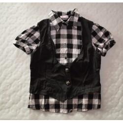 Női kockás ing, mellénnyel ORSAY