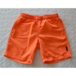 Narancs fiu rövidnadrág (140 cm)