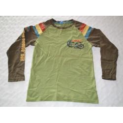 Fiú pulóver. Zöld (122 cm)