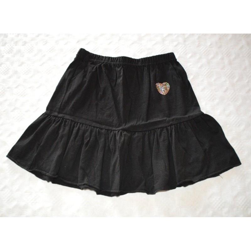 Kislány fekete szoknya (146-152 cm)
