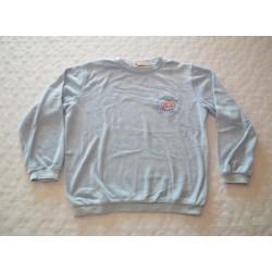 Meleg frottír pizsama alsó, felső (140 cm)