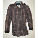 Női kockás kabát ( S )