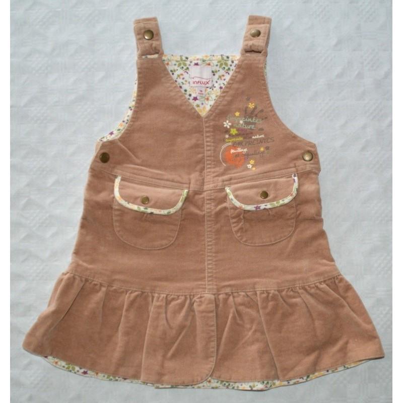Divatos kislány ruha ( 92 cm)