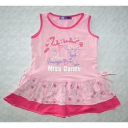 Divatos kislány ruha ( 104 cm)
