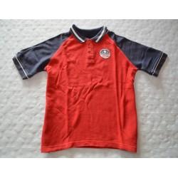 Gyerek piros galléros póló (7 év)