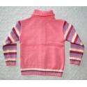 Kislány rózsaszín pulóver ( 98 cm)