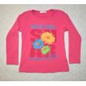 Kislány mintás pulóver ( 122 cm)
