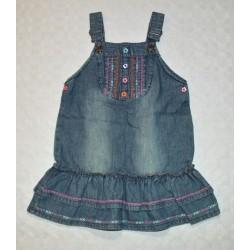 Cheroke kislány farmer ruha ( 104 cm)