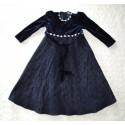 Kislány kék hercegnő ruha ( 92-98 cm)