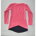 Kislány mintás pulóver ( 116 cm)