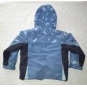 Kapucnis, polár béléses meleg kabát ( 116 cm )