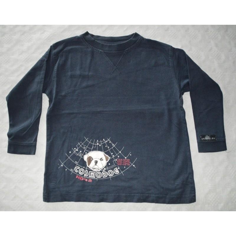 Fiú kék pulóver ( 110 cm) a3418cc985
