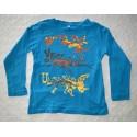 Fiú mintás pulóver ( 116 cm)