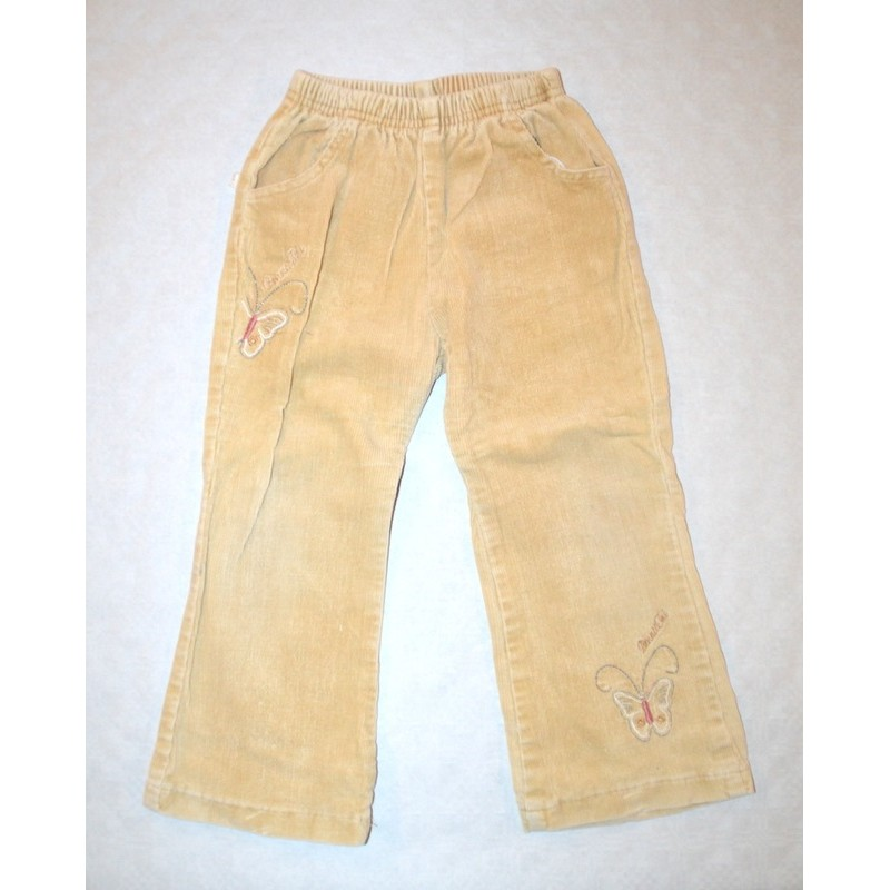 Kislány bársony nadrág ( 98-104 cm )