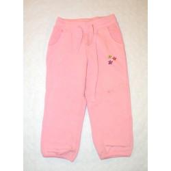 Kislány rózsaszín szabadidő nadrág ( 98-104 cm )